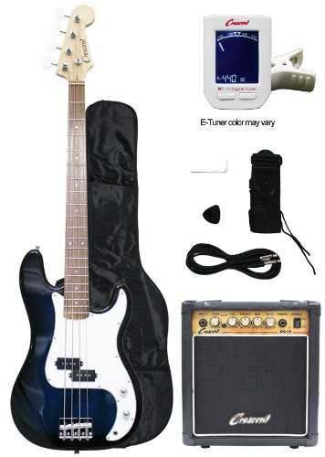 crescent bass guitar starter kit review oia music. Black Bedroom Furniture Sets. Home Design Ideas
