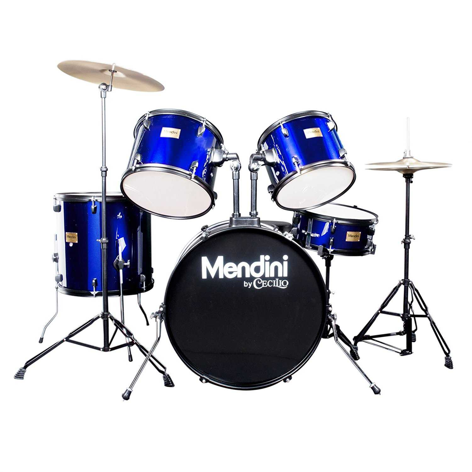mendini by cecilio 5 piece adult drum set product review oia music. Black Bedroom Furniture Sets. Home Design Ideas